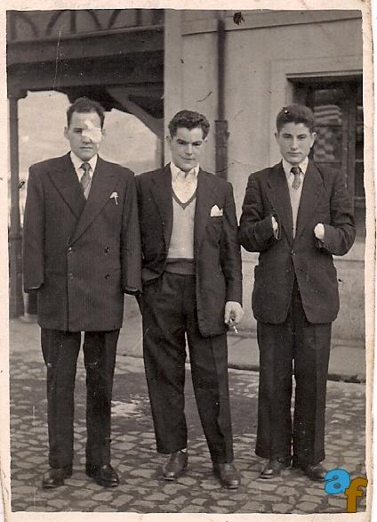 Alejandro, Constantino y yo