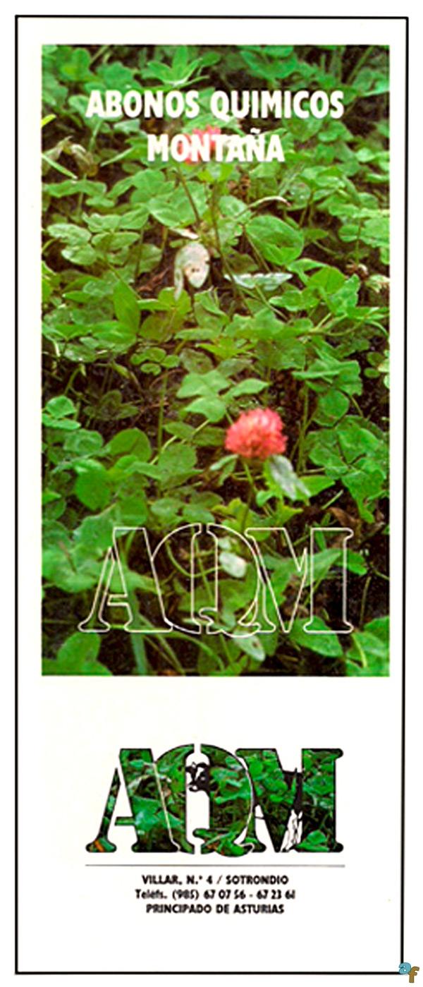 Folleto de Abonos Químicos de Montaña (AQM)
