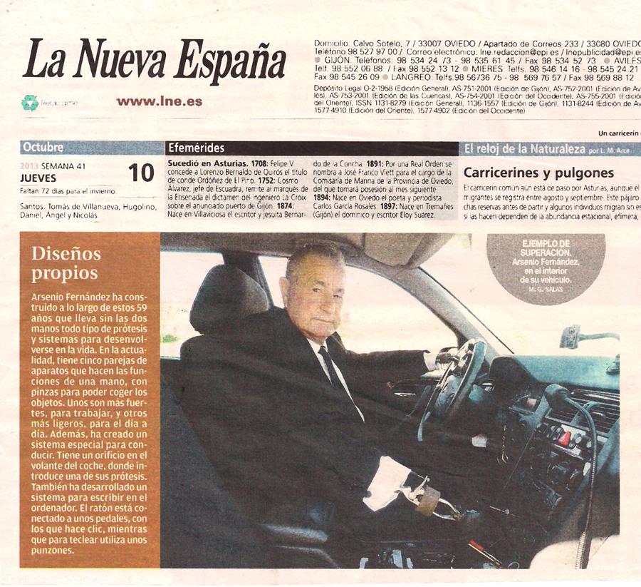 Reportaje de La Nueva España I
