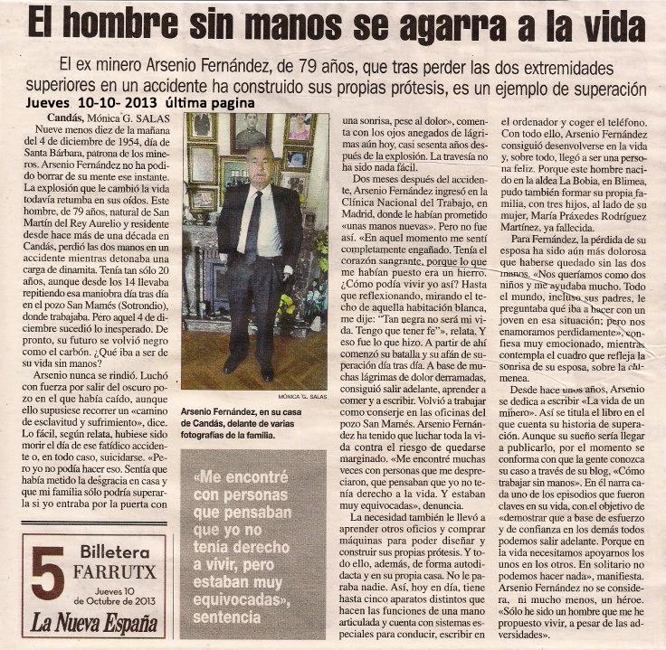 Reportaje de La Nueva España II